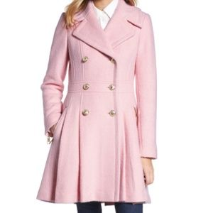 Jackets Amp Coats Guess Pink Double Breasted Wool Blend